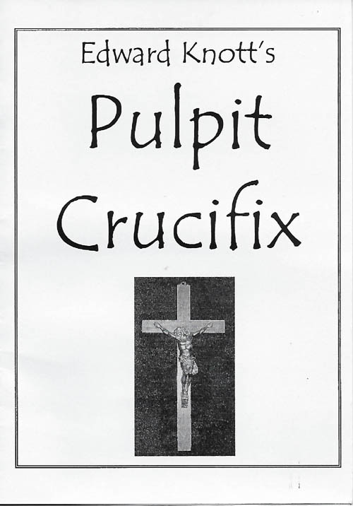 Pulpit Crucifix